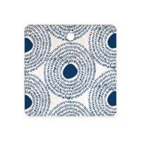 Deny Designs Circles II Cutting Board in Blue