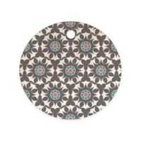 Deny Designs Heather Dutton Amirah Dusk Round Cutting Board in Grey
