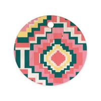 Deny Designs Zoe Wodarz Digital Daze Round Cutting Board in Multi