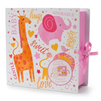 Tri-Coastal Design Animal Keepsake Box Book in Pink  sc 1 st  Bed Bath u0026 Beyond : keepsake box baby - Aboutintivar.Com