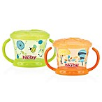 Nuby™ Snack Keeper in Green/Orange