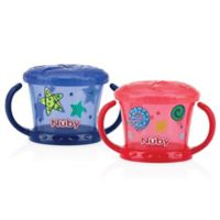 Nuby™ Snack Keeper in Blue/Red
