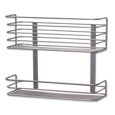 Household Essentials® 2 Tier Shallow Under Sink Storage Basket Organizer
