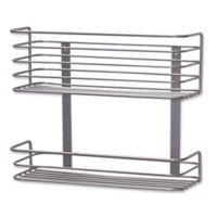 Household Essentials® 2-Tier Shallow Under Sink Storage Basket Organizer