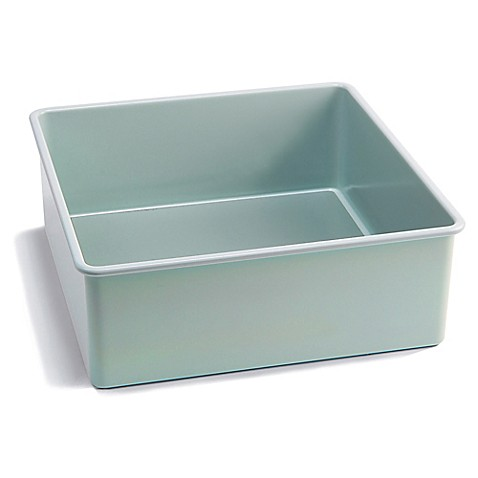 Jamie Oliver Carbon Steel 8 Inch Square Cake Pan In Blue