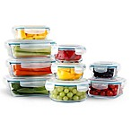 Neoflam® Cloc™ 18-Piece Food Storage Set in Clear