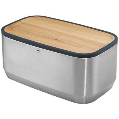 Superbe Hailo™ KitchenLine Design Plus Bread Bin In Stainless Steel