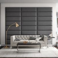 Vant 117-Inch x 92-Inch Vinyl Upholstered Headboard Panels in Grey Pewter