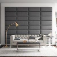 Vant 120-Inch x 92-Inch Vinyl Upholstered Headboard Panels in Grey Pewter