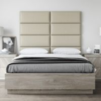 Vant 60-Inch x 46-Inch Vinyl Upholstered Headboard Panels in Dusty Taupe