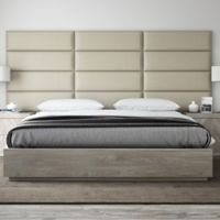 Vant 117-Inch x 46-Inch Vinyl Upholstered Headboard Panels in Dusty Taupe
