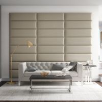 Vant 117-Inch x 92-Inch Vinyl Upholstered Headboard Panels in Dusty Taupe