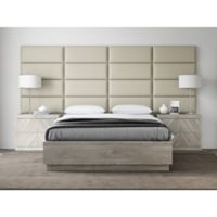 Vant 120-Inch x 46-Inch Vinyl Upholstered Headboard Panels in Dusty Taupe