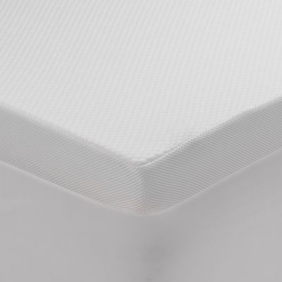 flot foam soft full mattress topper in white