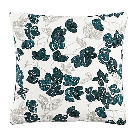 Skyline Furniture Bloom Throw Pillow in Turquoise - Bed Bath & Beyond