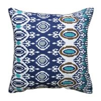 Amity Home Risa Throw Pillow in Indigo/Aqua