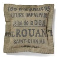 Amity Home Saint-Chinian Throw Pillow in Khaki