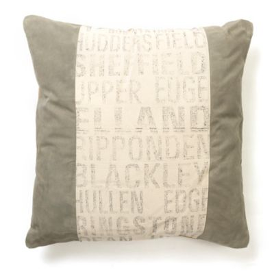 amity home helimax square throw pillow in ivorygrey