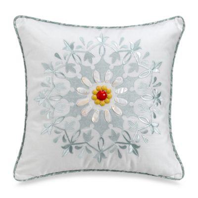 Echo Design Throw Pillows : Echo Design Jaipur 18-Inch Square Throw Pillow - Bed Bath & Beyond