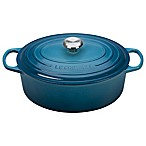 Le Creuset® Signature 6.75 qt. Oval Dutch Oven in Marine