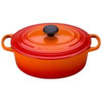 Le Creuset® Signature 2.75 qt. Oval Dutch Oven in Flame