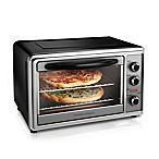 Hamilton Beach® Countertop Oven with Convection & Rotisserie Maximum in Black