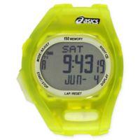 Asics® AR08 Night Run Running Watch in Yellow