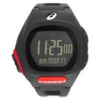 Asics® AR10 Ultra Thin Running Watch in Black