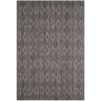 Safavieh Courtyard 6-Foot 7-Inch x 9-Foot 6-Inch Indoor/Outdoor Area Rug in Black