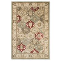 Nottingham Home Vintage Patchwork 5-Foot x 7-Foot 7-Inch Area Rug in Green