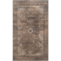 Safavieh Vintage Cassandra 3-Foot 3-Inch x 5-Foot 7-Inch Area Rug in Soft Anthracite