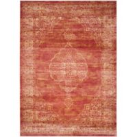 Safavieh Vintage Sophia 8-Foot x 11-Foot 2-Inch Area Rug in Rust