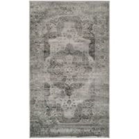 Safavieh Vintage Eloquence 2-Foot x 3-Foot Accent Rug in Grey