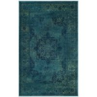 Safavieh Vintage Eloquence 2-Foot 7-Inch x 4-Foot Accent Rug in Blue