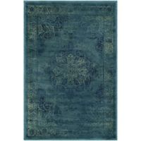 Safavieh Vintage Eloquence 3-Foot 3-Inch x 5-Foot 7-Inch Area Rug in Blue