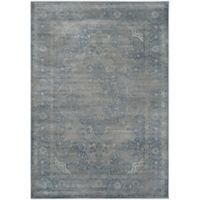 Safavieh Vintage Eloquence 6-Foot 7-Inch x 9-Foot 2-Inch Area Rug in Blue/Grey