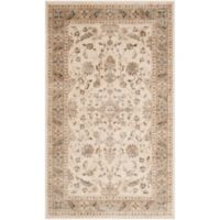 Safavieh Vintage Charlotte 2-Foot x 3-Foot Accent Rug in Stone/Caramel