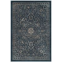 Safavieh Vintage Rebecca 2-Foot x 3-Foot Accent Rug in Blue/Light Grey
