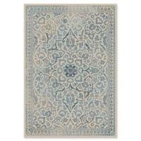 Safavieh Vintage Rebecca 5-Foot 3-Inch x 7-Foot 6-Inch Area Rug in Cream/Light Blue