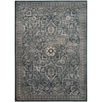 Safavieh Vintage Rebecca 8-Foot 10-Inch x 12-Foot 2-Inch Area Rug in Blue/Light Grey
