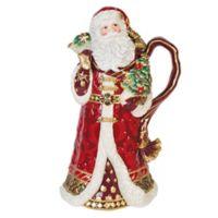 Fitz and Floyd® Renaissance Holiday Santa Pitcher