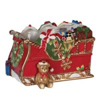 Fitz and Floyd® Reagan White House Christmas Sleigh Serving Bowl