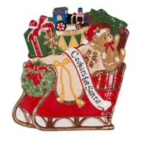 Fitz and Floyd® Reagan White House Christmas Sleigh Cookie Platter