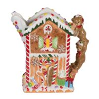 Fitz and Floyd® Reagan White House Christmas Gingerbread Pitcher