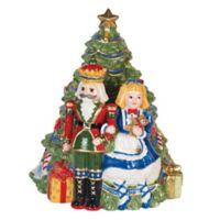 Fitz and Floyd® Kennedy White House Christmas Nutcracker Cookie Jar