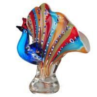 Dale Tiffany™ Peacock Art Glass Figurine