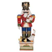 Fitz and Floyd® Kennedy White House Nutcracker with Ducks Figurine