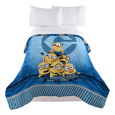 minions despicable me follow mel reversible twin full
