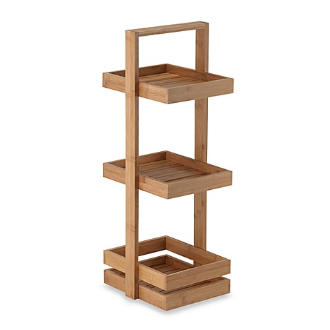 3 Tier Bamboo Caddy
