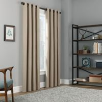 Copley Square 95-Inch Grommet Top 100% Blackout Window Curtain Panel in Khaki